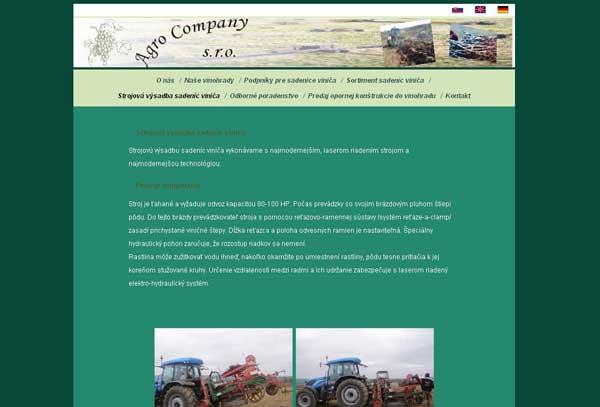 www.agrocompany.sk